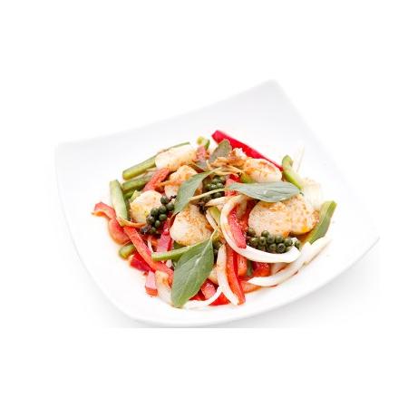 Bœuf Lok Lak  et riz thaï